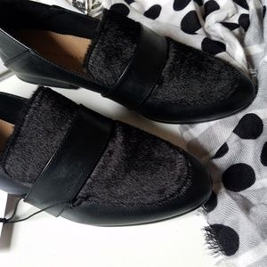 🆕️🖤👞Faux Fur Loafers👞🖤